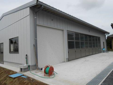 K様農業倉庫新築工事
